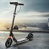 TTLOVE Pedal Handbremse Roller, Faltbarer Roller für Erwachsene, Tretroller, Scooter Faltbarer Roller ultraleichtem Roller