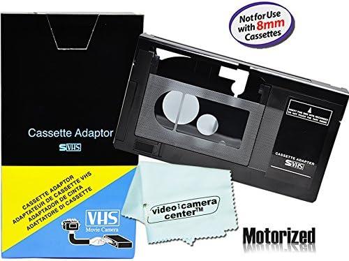 Motorized VHS C Cassette Adapter For JVC C P7U CP6BKU C P6U Panasonic PV P1 RCA VCA115 1 VCC113 product image