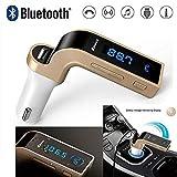 Teconica CG7 Bluetooth FM Transmitter Universal Wireless in-Car FM Adapter Car Kit