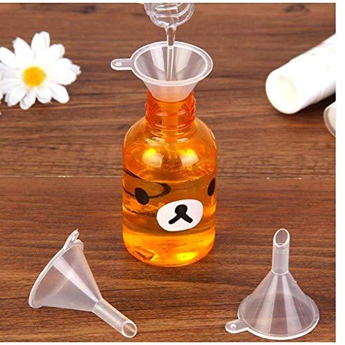 CULER Mini Transparent Trichter Kunststoff Küche Kochendes Zubehör Gadgets Parfüm Emulsion Verpackung Zusatzwerkzeug