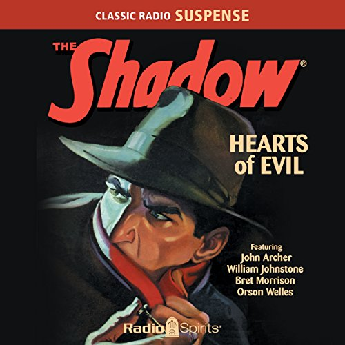 The Shadow: Hearts of Evil audiobook cover art