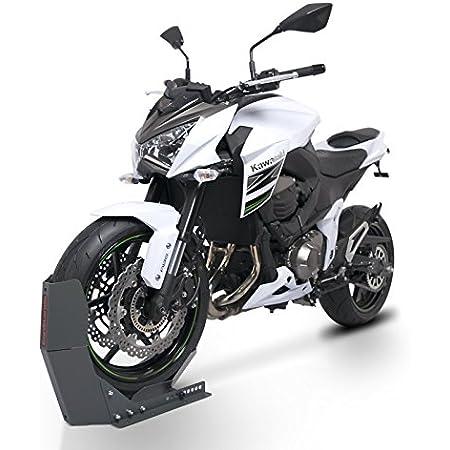 Constands Easy Transport Fix Motorrad Wippe Kompatibel Für Anhänger Vorderrad Transportständer Motocross Roller Constands Easy Transport Fix Grau Matt Auto