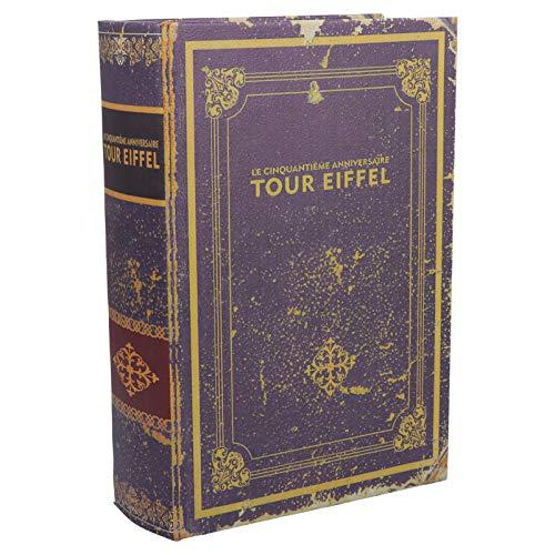NICEXMAS Caja de Libros Falsos Libros de La Biblia Decorativos Cajas de Recuerdos de Joyería Caja de Libros de Almacenamiento Secreto para Decoración de Estanterías para El Hogar