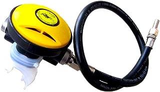 MeterMall Outdoors Diving Breathing Regulator Secondary Pressure Reducer Respirator Diving Mouth Bite Scuba