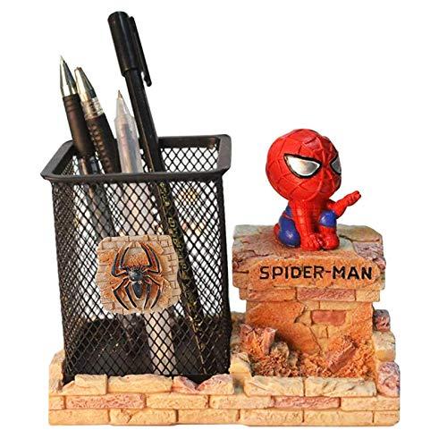 Spiderman Pen Holder, BREIS Creative Novelty Office Desk Decorations Man boy Girls Gadgets...