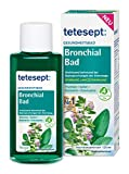 tetesept Bronchial Bad – Gesundheitsbad mit 4 natürlichen ätherischen Ölen – wohltuend bei Beanspruchungen der Atemwege - Badekosmetikum – 1 x 125 ml