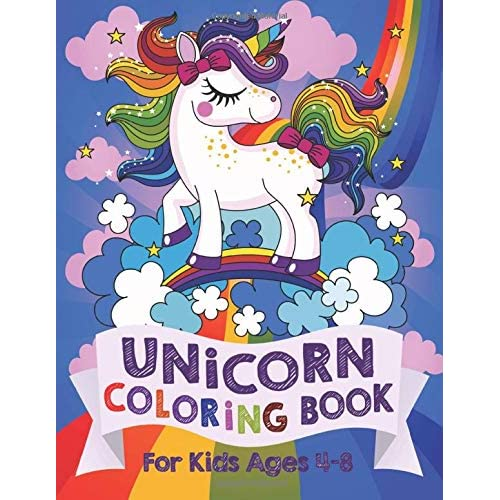 Unicorn Coloring Book For Kids Ages 48 Us Edition Silly Bear Rhamazon: Unicorn Coloring Pages For 4 Year Old At Baymontmadison.com