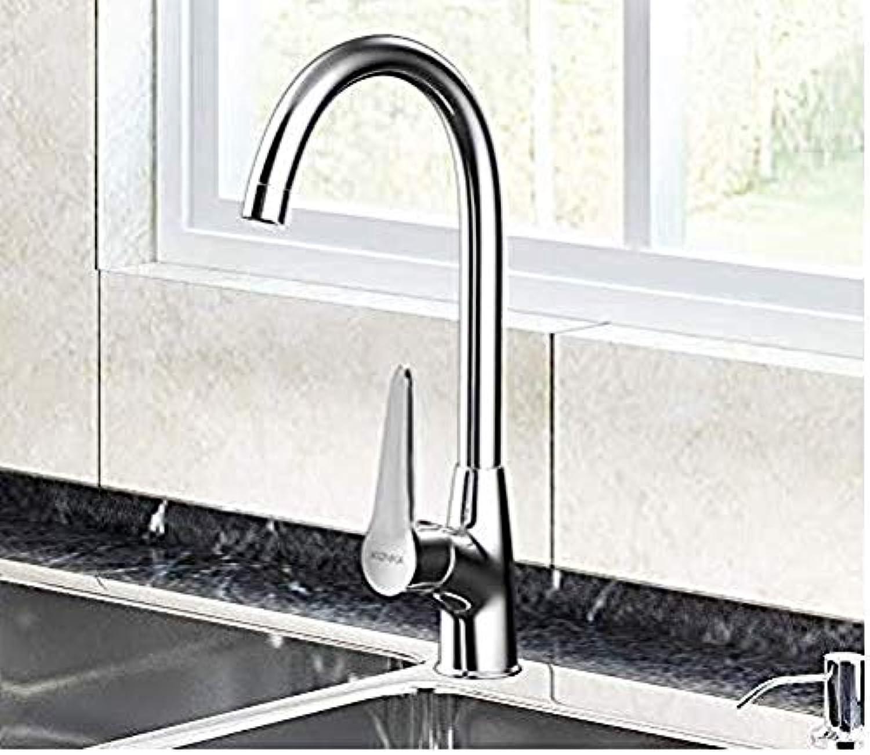 Retro Wasserhahn Küchenarmatur Wasserhahn hei und kalt Kupfer Wasserhahn Alle Kupfer - Küchenarmatur - 360 ° Drehung