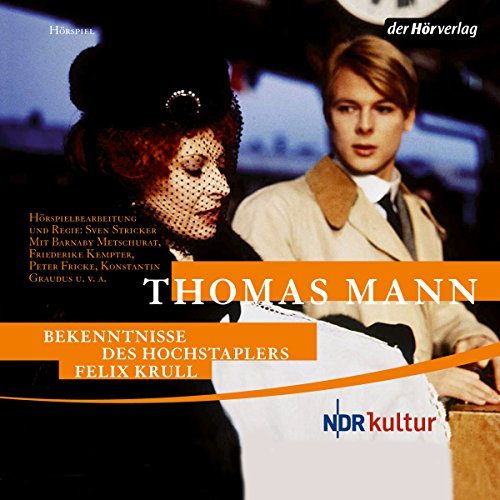 Bekenntnisse des Hochstaplers Felix Krull                   By:                                                                                                                                 Thomas Mann                               Narrated by:                                                                                                                                 Barnaby Metschurat,                                                                                        Peter Fricke                      Length: 2 hrs and 27 mins     Not rated yet     Overall 0.0
