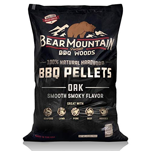 Bear Mountain BBQ FK18 Premium All-Natural Hardwood Red and White