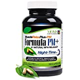 All Natural Muscle Relax Formula PM Plus - Over 1,150 Milligram Support - Night-Time Relaxer - Maximum Strength Natural Relaxant - 50 Capsules