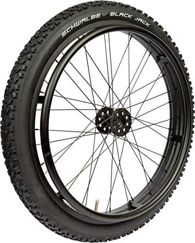 Rollstuhlrad FabaCare Offroad Extreme, Outdoor Antriebsrad für Rollstuhl, Ersatzrad für Gelände, bis 75 kg, Kugellager 12 mm