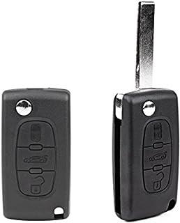 Nicedier-Tech - Carcasa para Llave de Coche, 3 Botones, Mando a Distancia