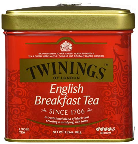 Twinings - Classics, English Breakfast Loose Tea, Te Nero, sfuso - 3,53 once (100 g)