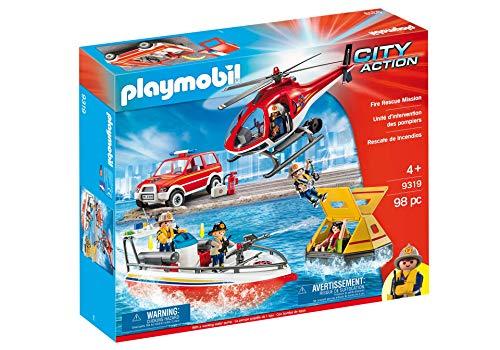 Playmobil: Set Rescate De Incendios  9319
