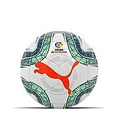 PUMA LaLiga 1 Mini Balón de Fútbol, Adultos Unisex, White-Green Glimmer-Nrgy Red, Mini