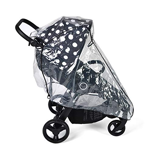 Petite&Mars ROYAL, STREET+ - Protector de lluvia para cochecito y carrito deportivo (universal, sin sustancias nocivas)
