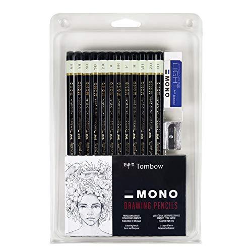 Tombow MONO Drawing Pencil Set