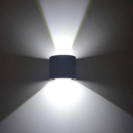 DEL Lampe murale Lampe Projecteur Salon Couloir Chambre couloir Up Down Filtre de couleur vert