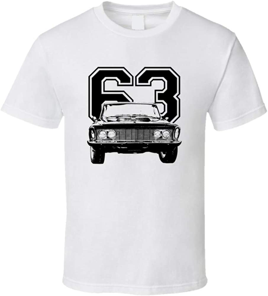 1963 Fury Grill View with New arrival T White 3XL Year Shirt Super popular specialty store