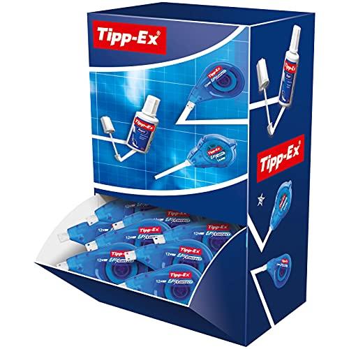 BIC 896419 Tipp-Ex Easy Correct, 20 Korrekturroller zum seitlichen Korrigieren, In praktischer Displaybox