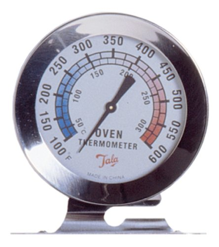 Chef Aid Thermometer Oven Tala ZILVER