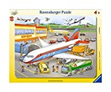 Ravensburger 06700 Piccolo aereoporto- Puzzle incorniciato da 40 pezzi...