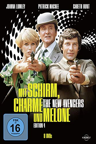 Mit Schirm, Charme und Melone - Edition 4: The New Avengers [8 DVDs]