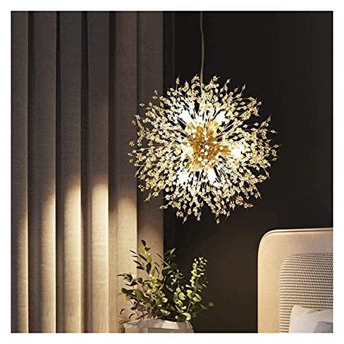 Palm kloset Nórdico Creativo Diente de león de Oro de Lujo de iluminación para el Dormitorio Sala de Estar Comedor araña de 8 40 * 40CM