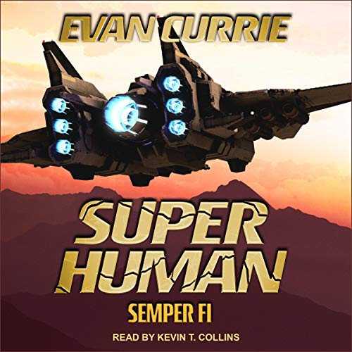 Superhuman: Semper Fi audiobook cover art