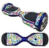 Pegatina Piel Para Hoverboard, Holacha 6.5in aerotabla Autobalanceo Vespa decoración Protector...