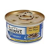 Gourmet Diamant Finas lonchas de Carne en Salsa con Pollo para Gatos 85 gr