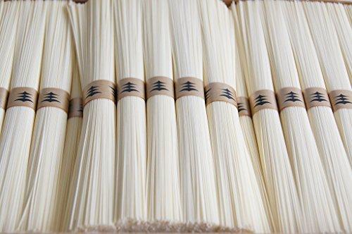 絹肌の貴婦人 古物 手延素麺 超極細 金帯 50g×160束 簡易箱