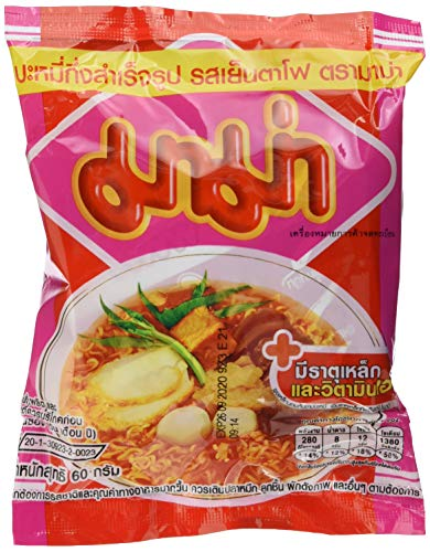 MAMA Instant Nudeln Yentafo Tofu, 30er Pack (30 x 60 g)