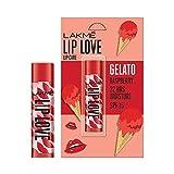 Lakmé Lip Love Gelato Chapstick, Raspberry, Moisturizing Tinted Lip Balm With Spf 15, 4.5 g