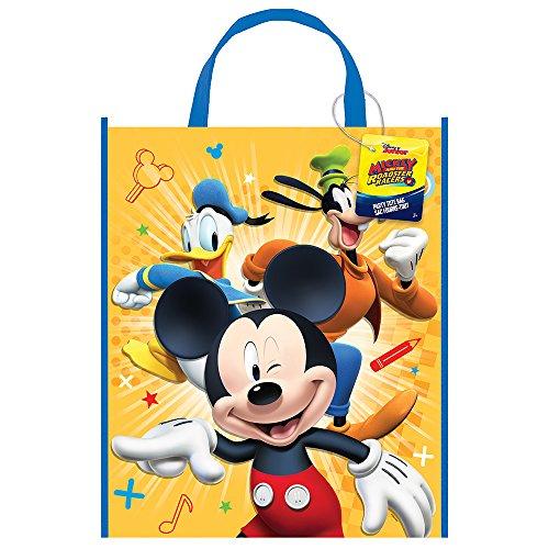 Groß, aus Kunststoff Mickey Maus Party Tasche, 33cm x 28cm