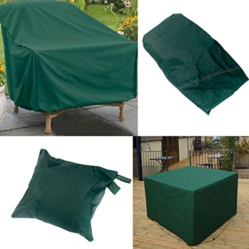 Bureze 280 x 206 x 108 cm extérieur étanche Ensemble de Meubles de Couverture Table Shelter