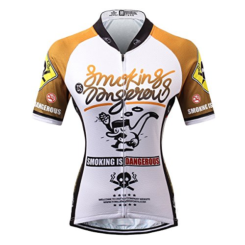 Thriller Rider Sports® Mujer Smoking is Dangerous Deportes y Aire Libre Maillot...
