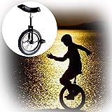 Entrenador Monociclo, Marco De Acero De 16/18/20/24 Pulgadas Bicicleta De Una Rueda Pedales De Plástico Redondeados Para El Ejercicio De Ciclismo De Equilibrio Como Regalos Para Niños 4 Colores
