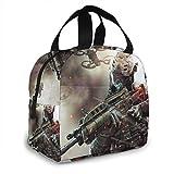 shenguang Call-Of-Duty Lunch Bag Tote Reutilizable Picnic Lunch Cooler Bag Viaje Trabajo Playa Navegación Fiambrera portátil para mujeres/hombre/Picnic/Navegación/Playa/Pesca/Trabajo