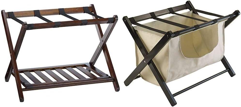 バースデー 記念日 ギフト 贈物 お勧め 通販 Winsome Remy Shelf Luggage Rack Cappuccino Organ 出群 Storage Dora