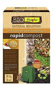 Flowe - Acelerador de la descomposición, Compost Orgánico, 2 kg