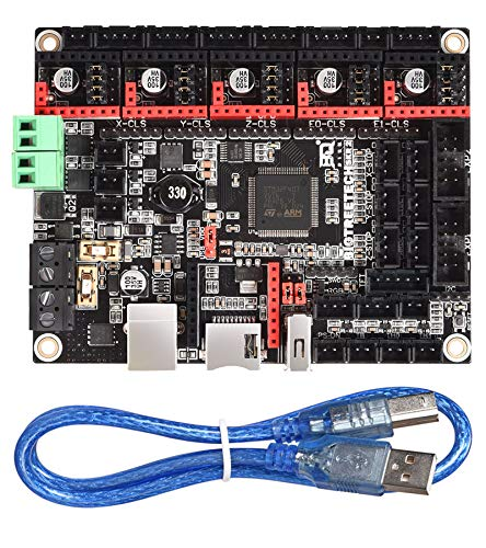 BIGTREETECH SKR 2 Control Board for 3D Printer New Upgrade Silent Board Based on SKR V1.4 Turbo Motherboard Compitable TMC2209 TMC2208 DRV8825 Support TFT35 E3 V3.0 Display LCD12864 Screen