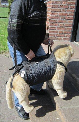 Tiffys-Tasche Größe 9, 86cm - 95cm Brustumfang. Gehhilfe / Tragehilfe - das Original - 1000fach bewährt - Made in Germany. Hoher Tragekomfort durch Polstermaterialien und gleichzeitig perfekter Halt und Sicherheit durch das patentierte Gurtsystem.