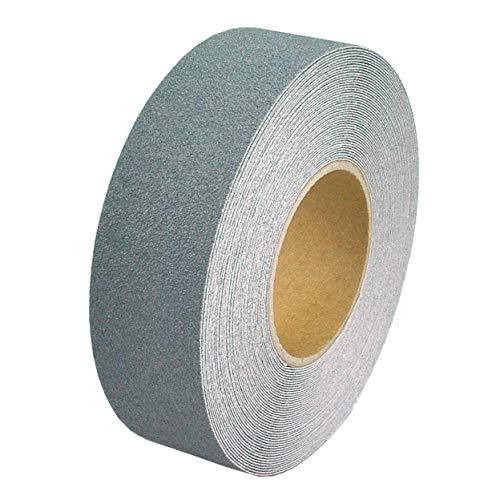 Anti-Rutsch-Band für Innen- u. Außenbereiche, Rutsch hemmend, selbstklebend (2,5cm x 18m, Grau)