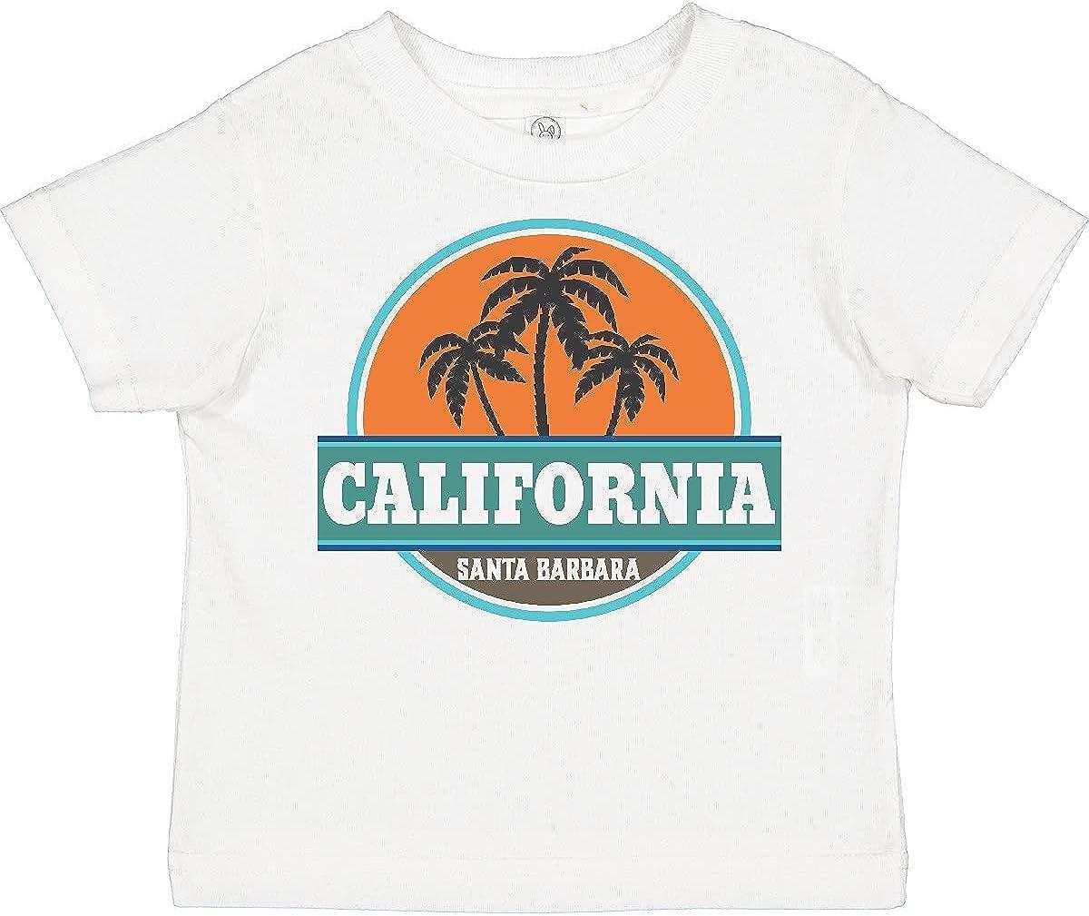 inktastic Santa Barbara California Toddler T-Shirt