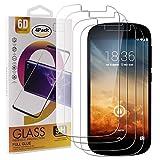 Guran 4 Stück GEH?rtetes Glas Bildschirmschutzfolie für Yotaphone 2 Smartphone mit 9H H?RTE Panzerglasfolie Anti-Kratzer HD Klar Schutzfolie Film