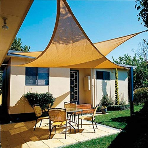 PAPILLON 8091180 Toldo Vela Sombra Jardin Triangular 3, 6x3,6 Metros Beige