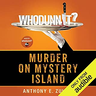 Whodunnit?: Murder on Mystery Island audiobook cover art