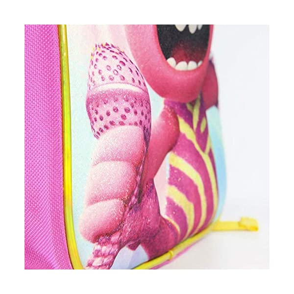 51ku7lKIXLL. SS600  - Cerdá, Mochila Infantil Trolls 3D con Purpurina-Licencia Oficial Dreamworks Studios Unisex niños, Multicolor…